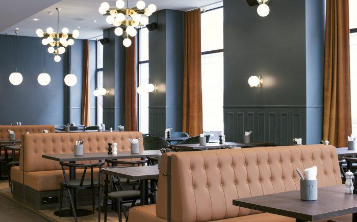 Restaurant på hotell Bondeheimen