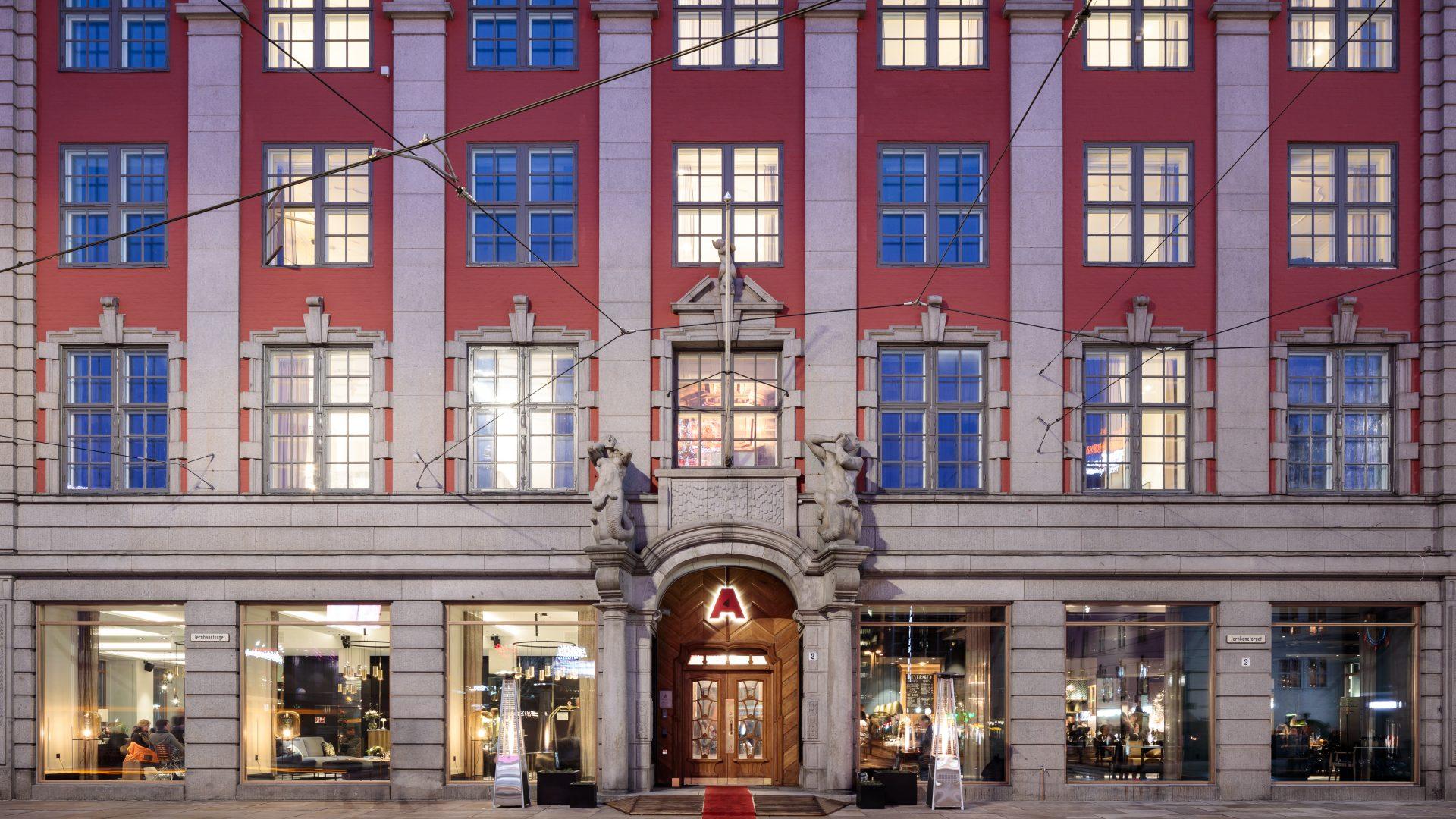 Den Norske Amerikalinjen - et boutique-hotell